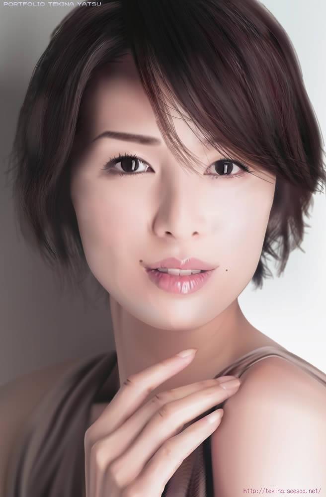 今すぐマネしたい髪型! 吉瀬美智子の美しすぎるショートヘアー!!のサムネイル画像