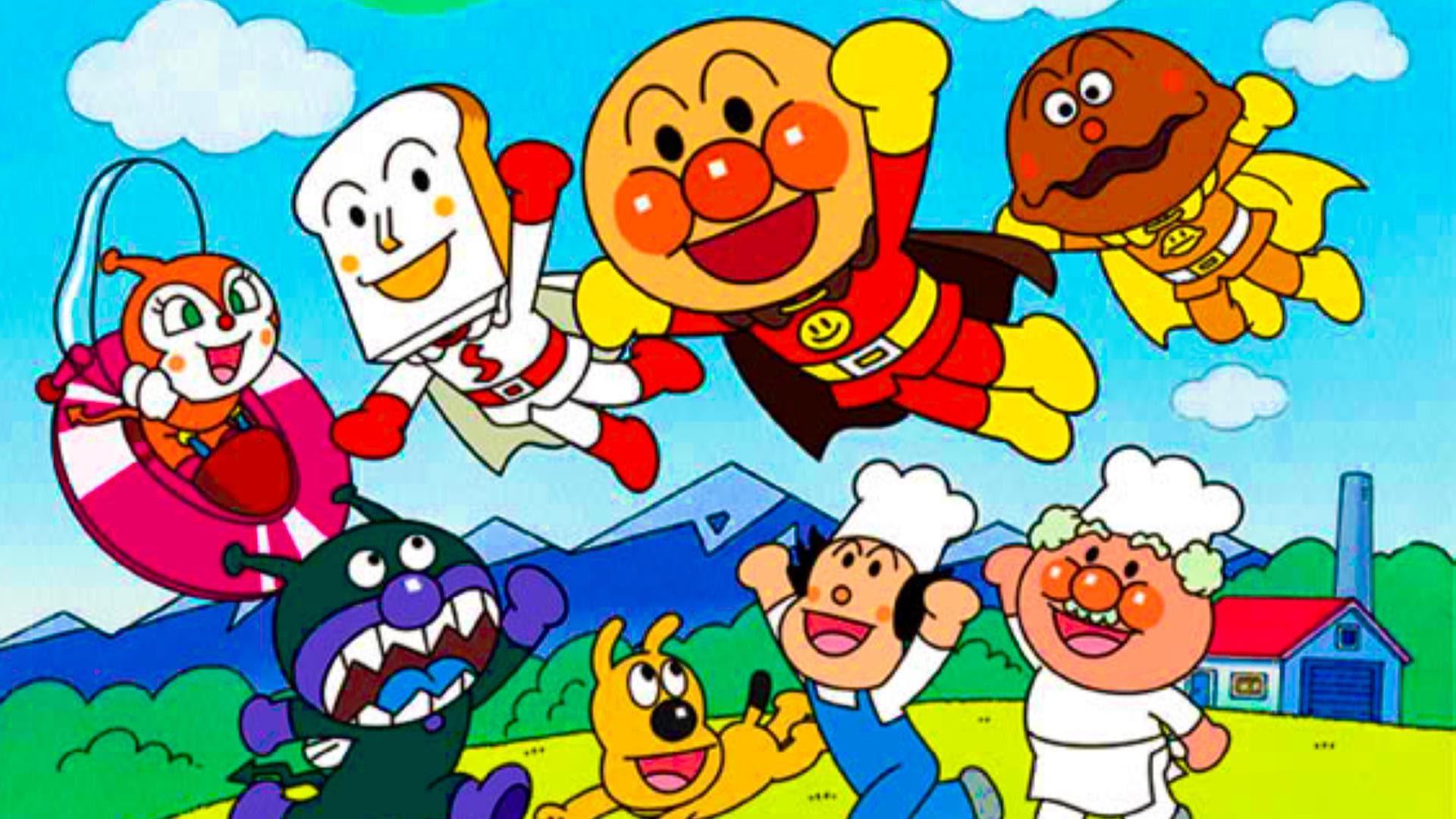 アンパンマンのテレビアニメが始まったのは?放送時間はいつ?のサムネイル画像