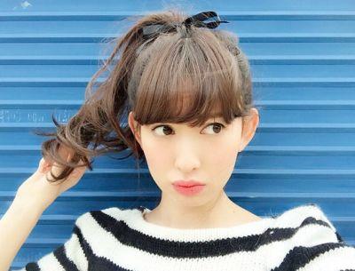 小嶋陽菜の髪型にしたい!こじはるミディアムにしたい女子が急増!のサムネイル画像
