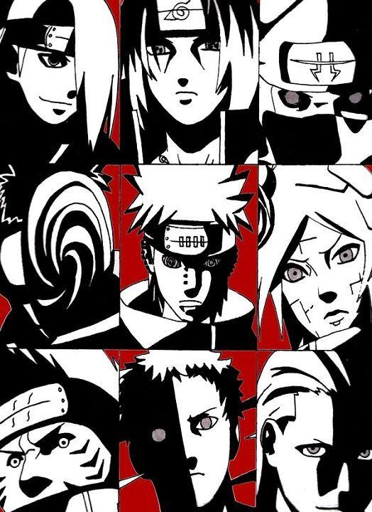 【NARUTO】個性豊かで最強!と呼べる暁のメンバーの詳細と能力のサムネイル画像