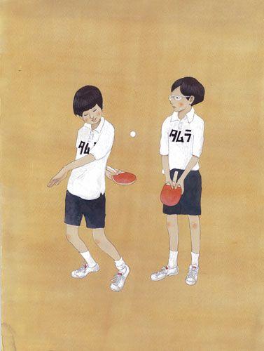 あつがなつい!伝説の卓球漫画「ピンポン」について調べてみたのサムネイル画像