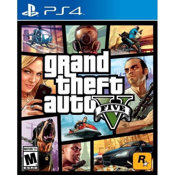 PS4ソフトで大人気のGTA5(グラセフ5)ってどんなゲーム!?のサムネイル画像