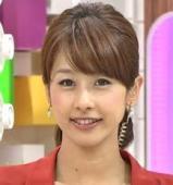 熱愛報道が多すぎる!人気アナウンサー加藤綾子さんの彼氏は誰?のサムネイル画像