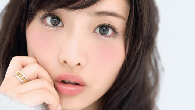 石原さとみ「小悪魔系可愛い」イメチェンのヒミツは眉毛にあった?!のサムネイル画像