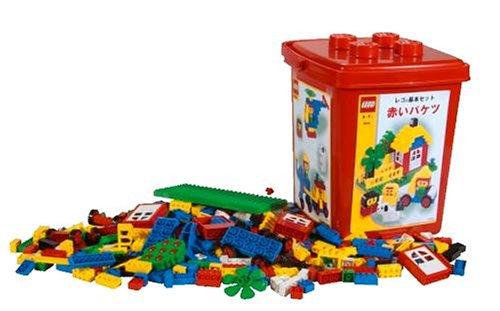 3歳からのレゴ!レゴの赤いバケツがお勧め!だったけど生産終了に!のサムネイル画像
