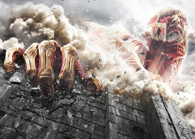批判殺到中!?話題の映画・実写版『進撃の巨人』の感想&ネタバレのサムネイル画像