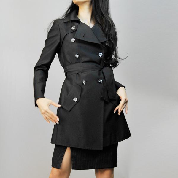秋の定番☆皆がよく着るトレンチコートは結び方で差をつけよう!のサムネイル画像