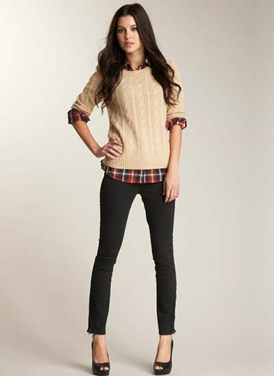 これからの季節に大活躍!定番のセーターのコーディネート!のサムネイル画像