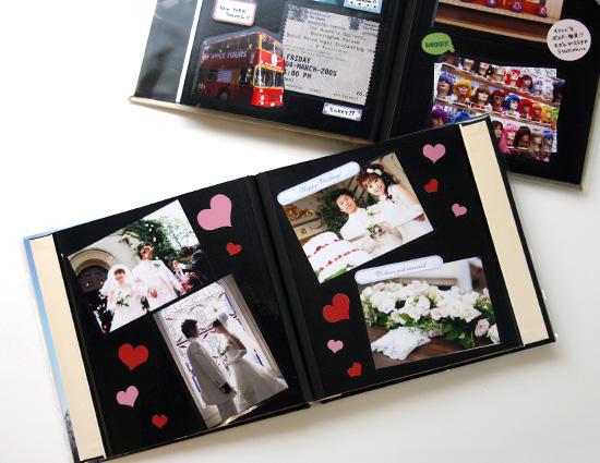 【記念日】心のこもった手作りアルバムを恋人にプレゼントしようのサムネイル画像