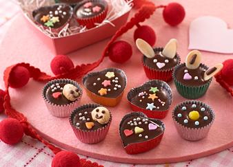 【簡単!】大好きな友達に手作りの友チョコをあげよう!【大量生産】のサムネイル画像