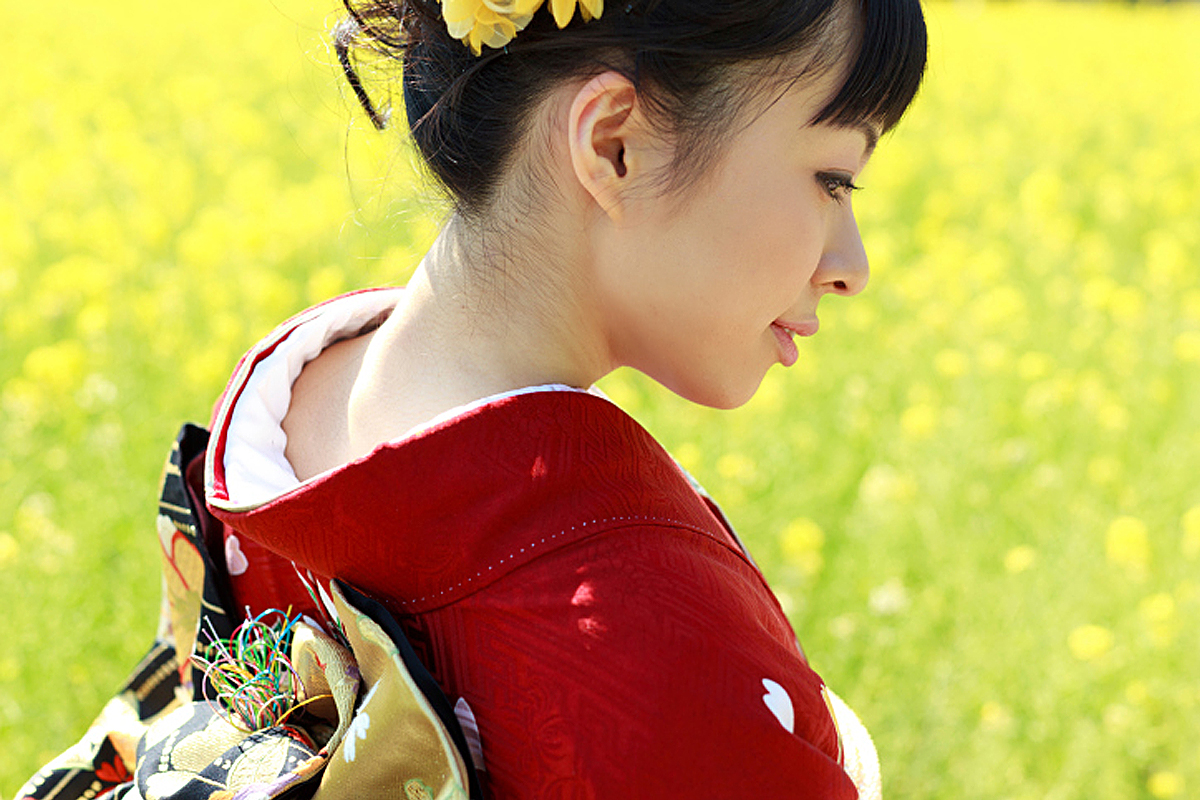 レトロ可愛いアンティーク着物に合う可愛い小物をご紹介します★のサムネイル画像