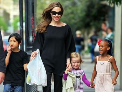 実子3&養子3人!総勢6人のママを務めるアンジェリーナジョリー のサムネイル画像
