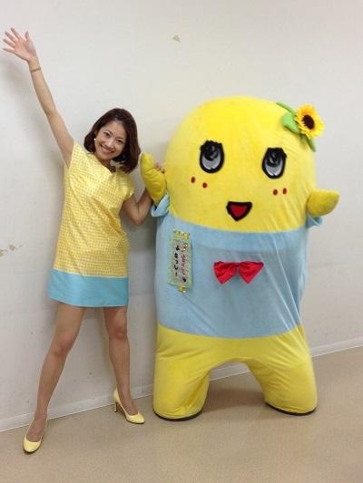 ふなっしーとふなっしーファンである大渕愛子さんの軌跡を負うのサムネイル画像