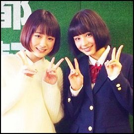 【画像】大原櫻子と広瀬すずがそっくりすぎる!!双子説まで浮上!?のサムネイル画像