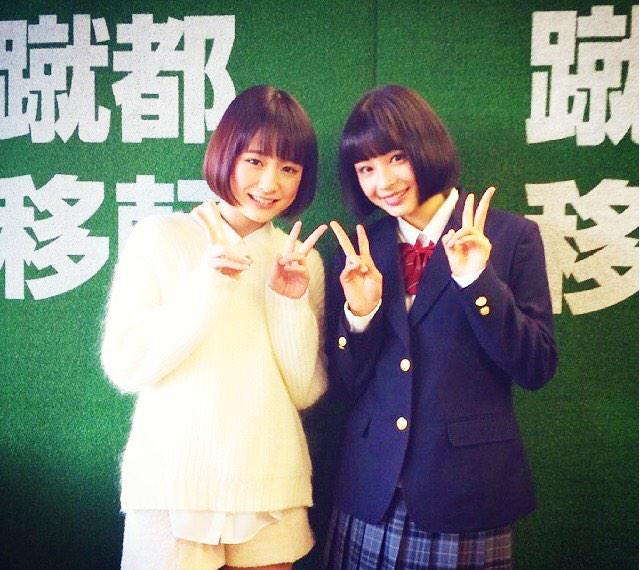 広瀬すずと大原櫻子が双子くらい似てるとネットで話題の2人に注目!のサムネイル画像