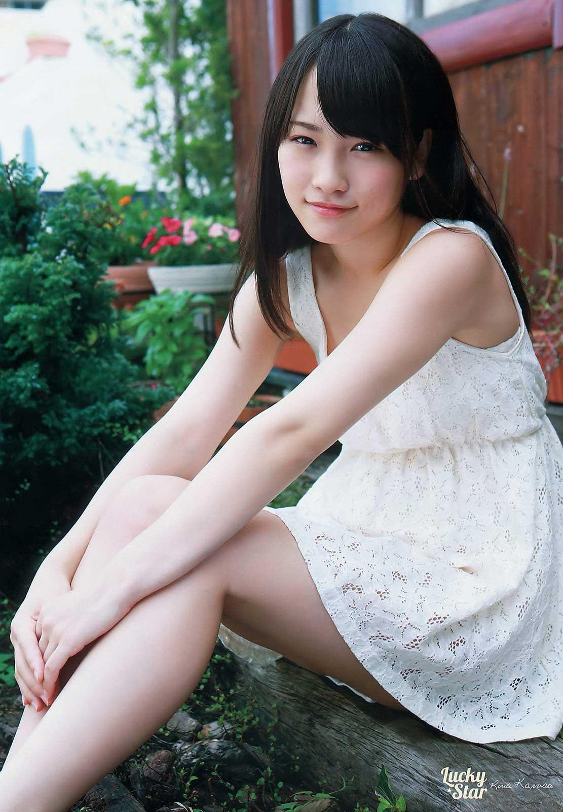 AKB48川栄李奈さんのキュートな水着姿画像を集めてみました!!のサムネイル画像