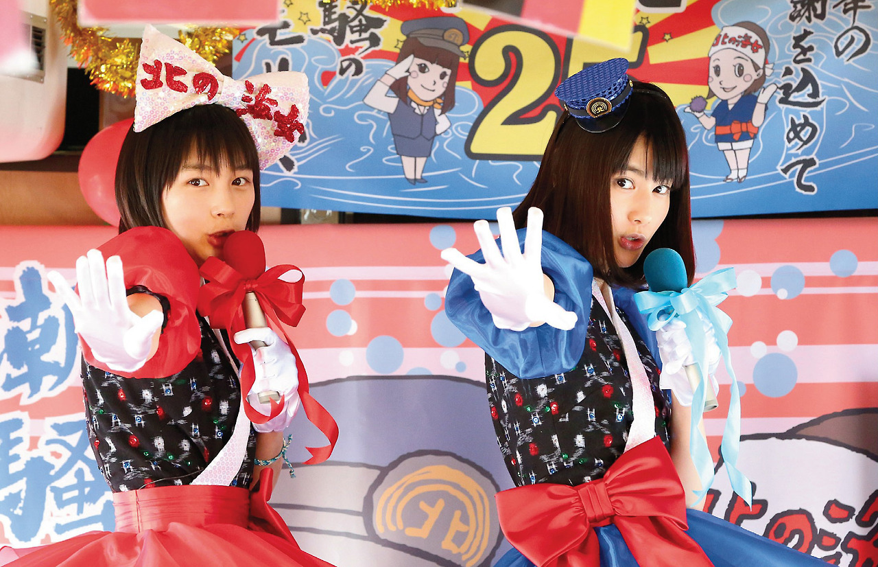 橋本愛と能年玲奈は「あまちゃん」の役柄通り仲良しなの?のサムネイル画像
