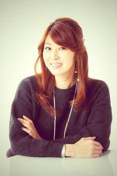髪のアクセサリーが素敵な藤吉久美子さん
