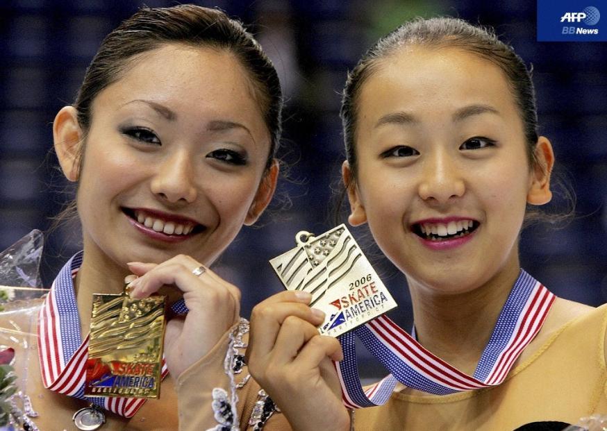 安藤美姫と浅田真央 フィギュアスケートの女王2人は仲良しなの?のサムネイル画像