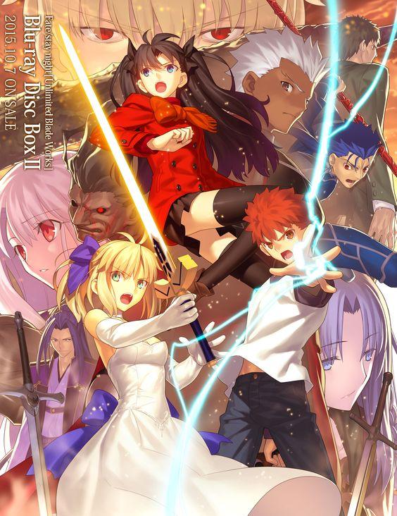 TYPE-MOONの大人気作品「Fate」のアニメシリーズまとめ!映画も!のサムネイル画像