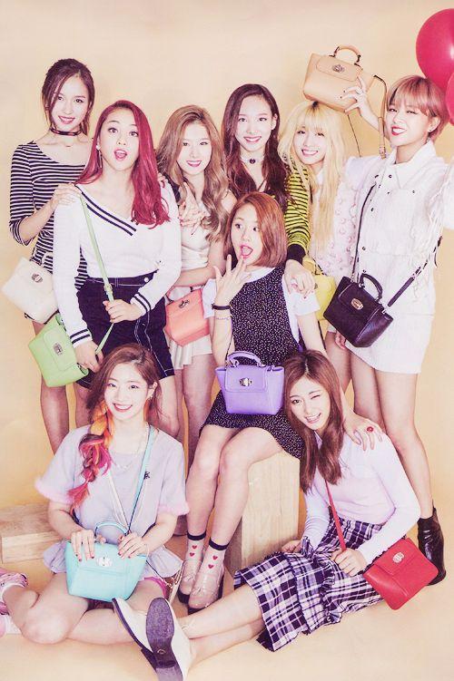 韓国発ガールズグループTWICE(トワイス)・気になるメンバーの人気順のサムネイル画像