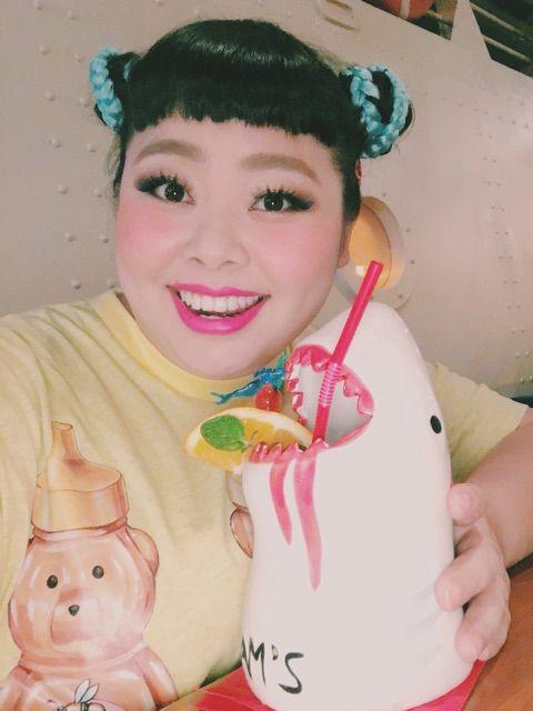 見ているだけで楽しい!ぽっちゃり芸能人渡辺直美の髪型がカワイイ☆のサムネイル画像