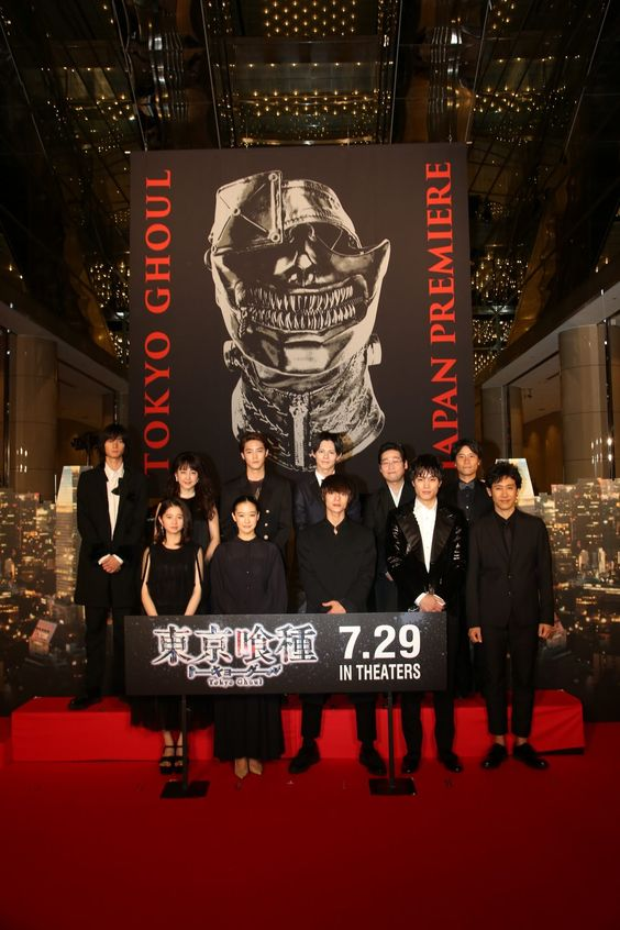 大人気漫画「東京喰種」が実写映画化!予告でファンの期待が高まる!のサムネイル画像