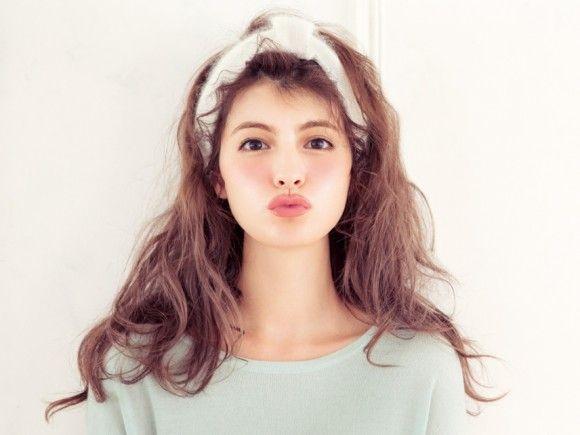 雑誌「ViVi」専属モデル マギーさんの素敵すぎる髪型特集です!のサムネイル画像