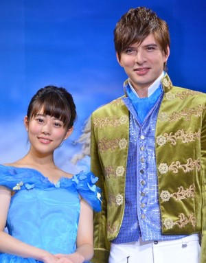 【城田優&高畑充希】日本語版シンデレラ声優の2人・Mステで披露!のサムネイル画像