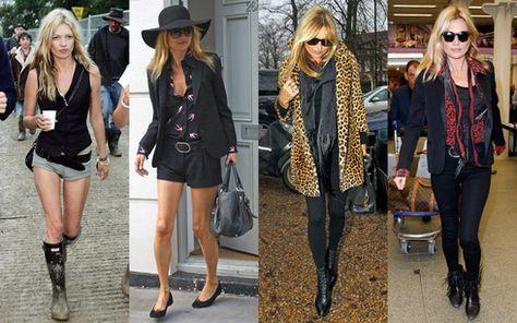 英ファッションモデル・ケイトモスの私服コーデが、超カッコいい!のサムネイル画像