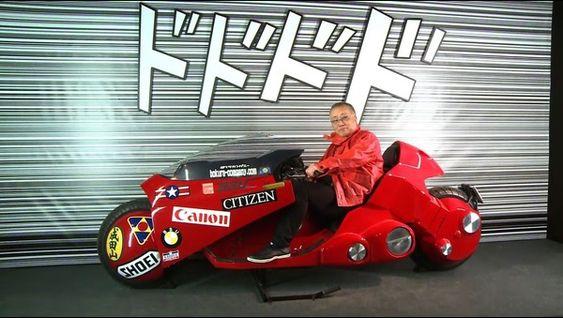 大友克洋の大人気漫画『AKIRA』に登場するバイクを追求する人々のサムネイル画像