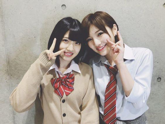 AKB48の岡田奈々と村山彩希がラブラブすぎてついにキスした!?のサムネイル画像