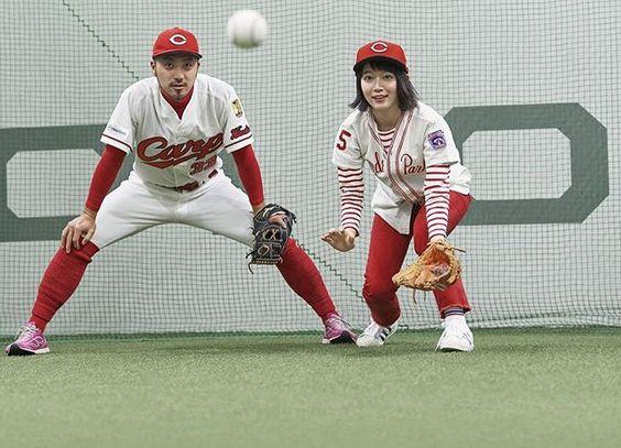 ファンから大反響の可愛過ぎる吉岡里帆カープ女子姿画像まとめのサムネイル画像
