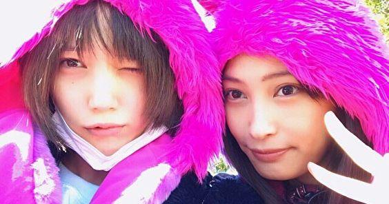 今人気のモデルで女優の本田翼さんと大政絢さんは本当に仲がいい?のサムネイル画像