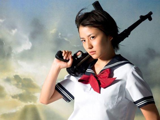 ドラマ『セーラー服と機関銃』に主演していた長澤まさみさん!のサムネイル画像