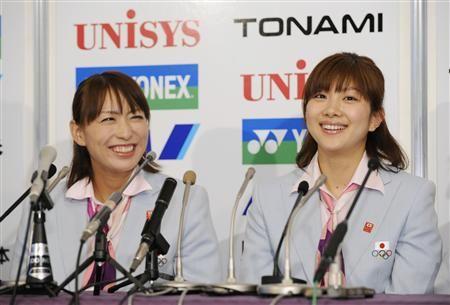 オグシオ・小椋久美子と潮田玲子の解散理由は?不仲だったのは本当?のサムネイル画像