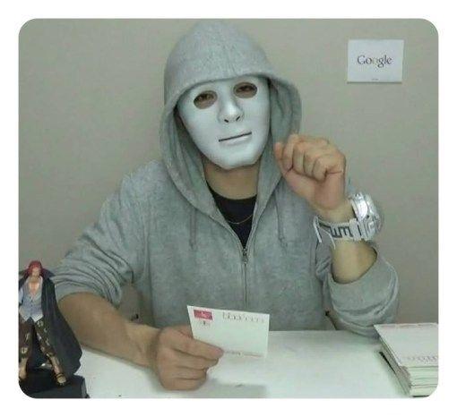 ユーチューバーのラファエルはどんな人?仮面の理由や経歴まとめのサムネイル画像