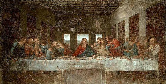 最後 の 晩餐 ユダ の 位置
