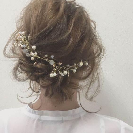 【2019最新版】結婚式の髪型は?簡単ボブ?大人っぽい髪型?マナーは?のサムネイル画像