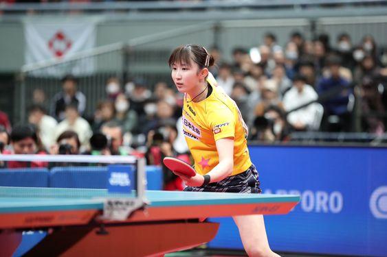 卓球界のアイドル「早田ひな」のプロフィールは?彼氏も卓球選手?のサムネイル画像