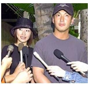 長嶋一茂の妻の性格が悪い?江角マキコとの落書き事件の真相とは?のサムネイル画像