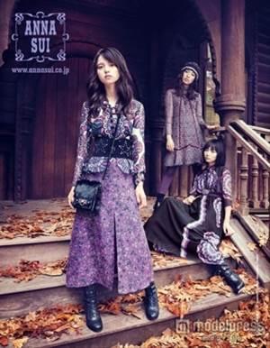 【乃木坂46】人気ファッションブランドANNA SUI広告モデルに?!のサムネイル画像