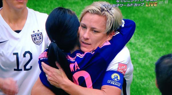 お互いの国を代表する澤穂希とワンバックの熱い友情がすごい!のサムネイル画像