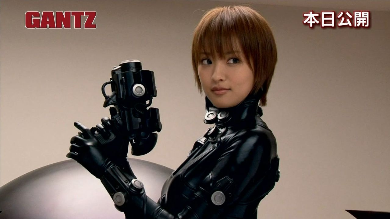 夏菜「ガンツ」過激シーン!女優魂を見せつけた!【動画あり】のサムネイル画像