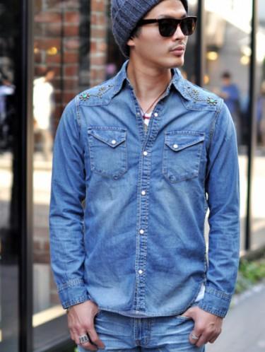 【ファッション】男前デニムシャツで今年の夏秋を攻めろ!【メンズ】のサムネイル画像