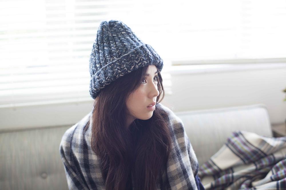夏に大流行したニット帽!秋のコーディネートはどうする!?のサムネイル画像