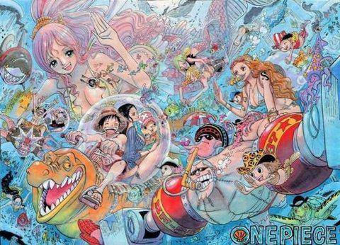 【画像あり】ONE PIECE(ワンピース)魚人島編のまとめのサムネイル画像