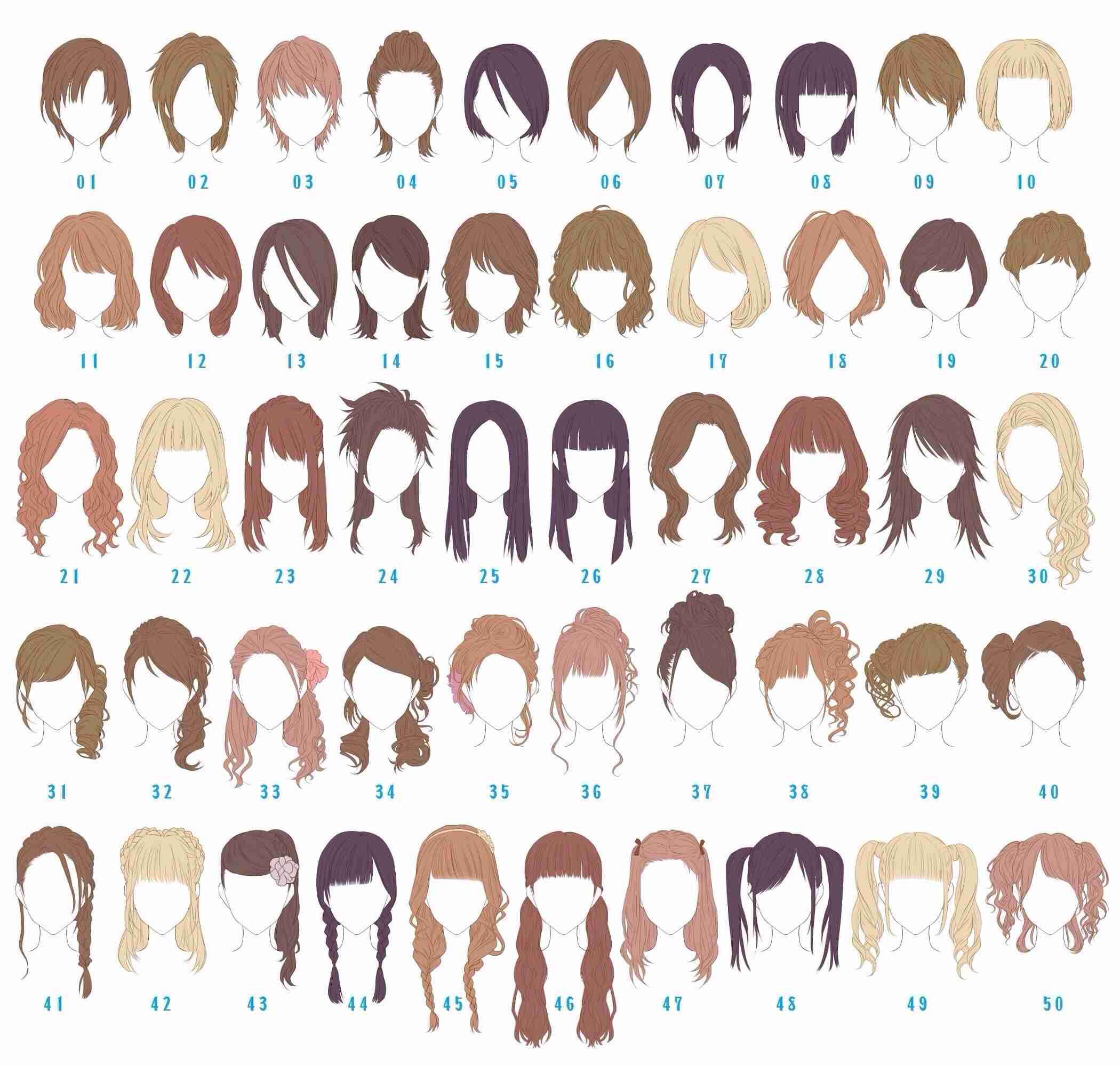 髪型 種類 女性