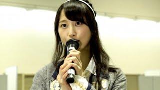 【SKE48・松井玲奈】卒業前の最後の握手会が終了!心境とは?のサムネイル画像