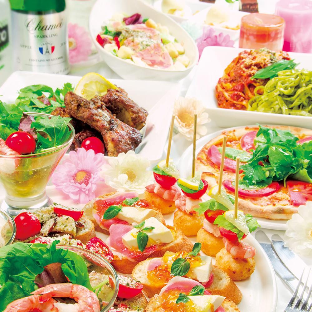 【東京】食べて飲んで楽しい!女子会プランがあるおすすめ店まとめのサムネイル画像